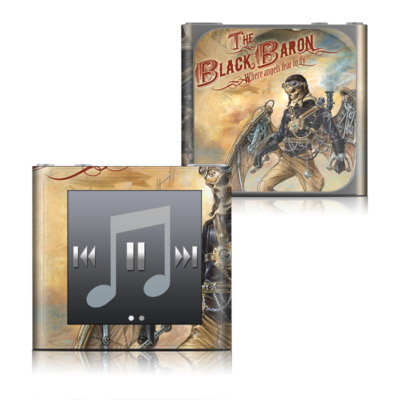 Apple iPod nano (6G) Skin - The Black Baron