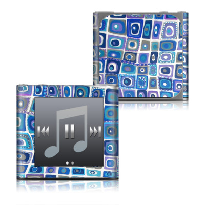 Apple iPod nano (6G) Skin - Blue Monday