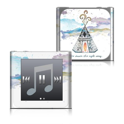 Apple iPod nano (6G) Skin - Boho Teepee