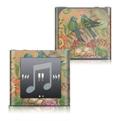 Apple iPod nano (6G) Skin - Splendid Botanical