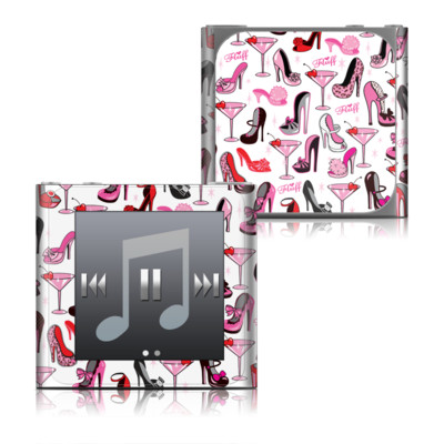 Apple iPod nano (6G) Skin - Burly Q Shoes