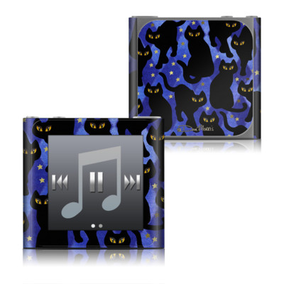 Apple iPod nano (6G) Skin - Cat Silhouettes