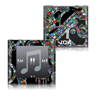 Apple iPod nano (6G) Skin - Circle Madness