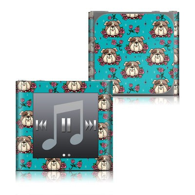 Apple iPod nano (6G) Skin - Bulldogs and Roses