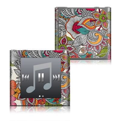Apple iPod nano (6G) Skin - Doodles Color