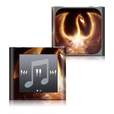 Apple iPod nano (6G) Skin - Fire Dragon