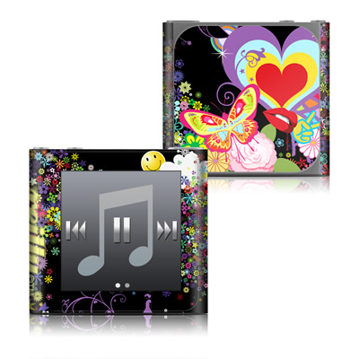 Apple iPod nano (6G) Skin - Flower Cloud