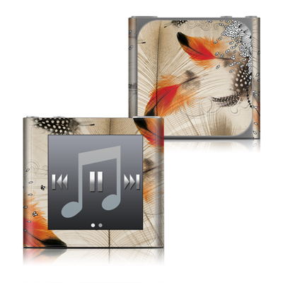 Apple iPod nano (6G) Skin - Feather Dance