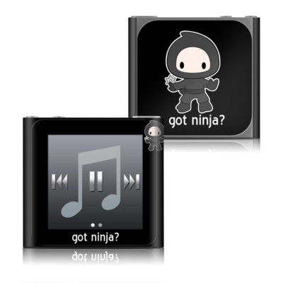 Apple iPod nano (6G) Skin - Got Ninja