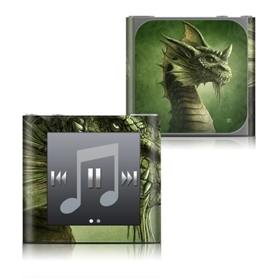 Apple iPod nano (6G) Skin - Green Dragon