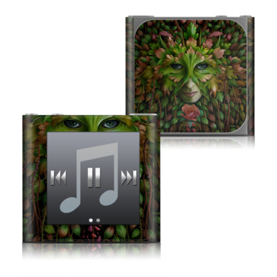 Apple iPod nano (6G) Skin - Green Woman