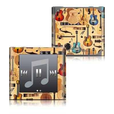 Apple iPod nano (6G) Skin - Guitar Collage