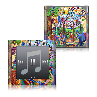 Apple iPod nano (6G) Skin - Happy Town Celebration