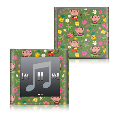 Apple iPod nano (6G) Skin - Hula Monkeys