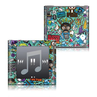 Apple iPod nano (6G) Skin - Jewel Thief