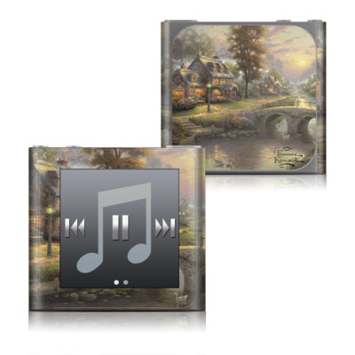 Apple iPod nano (6G) Skin - Sunset On Lamplight Lane