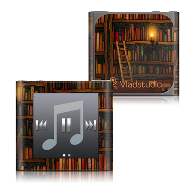 Apple iPod nano (6G) Skin - Library