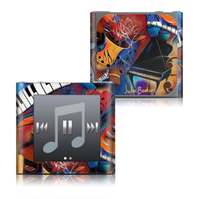 Apple iPod nano (6G) Skin - Music Madness