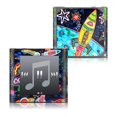 Apple iPod nano (6G) Skin - Out to Space