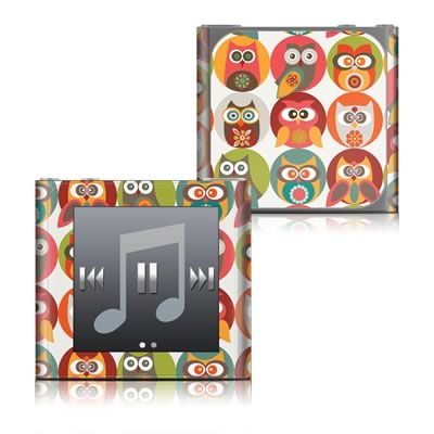 Apple iPod nano (6G) Skin - Owls Family