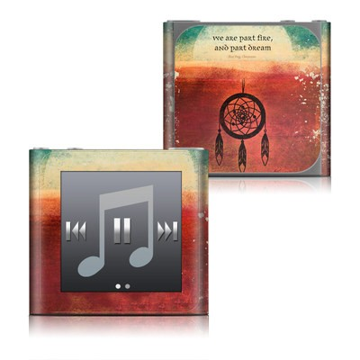 Apple iPod nano (6G) Skin - Part Fire