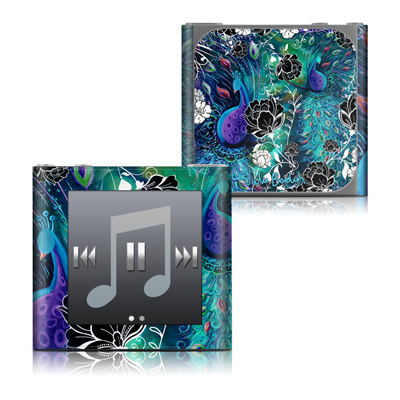 Apple iPod nano (6G) Skin - Peacock Garden