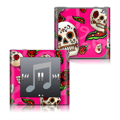 Apple iPod nano (6G) Skin - Pink Scatter