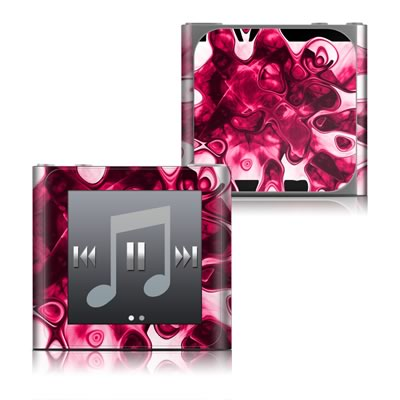 Apple iPod nano (6G) Skin - Pink Splatter