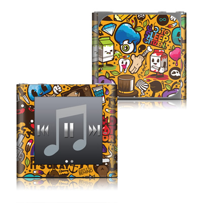 Apple iPod nano (6G) Skin - Psychedelic