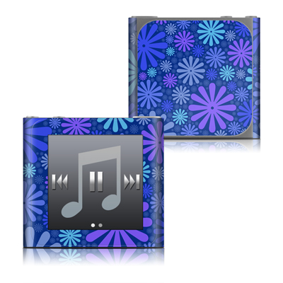 Apple iPod nano (6G) Skin - Indigo Punch