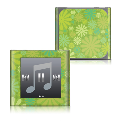 Apple iPod nano (6G) Skin - Lime Punch