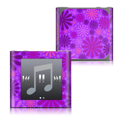 Apple iPod nano (6G) Skin - Purple Punch