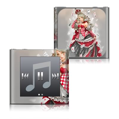 Apple iPod nano (6G) Skin - Queen Of Cards
