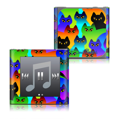 Apple iPod nano (6G) Skin - Rainbow Cats