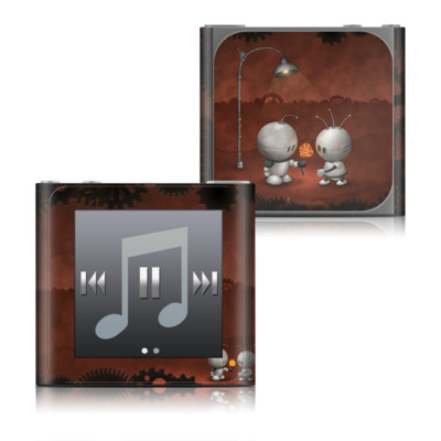 Apple iPod nano (6G) Skin - Robots In Love