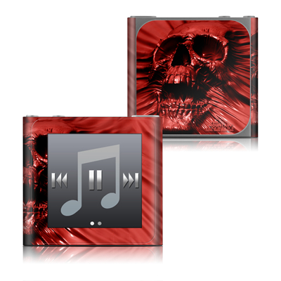Apple iPod nano (6G) Skin - Skull Blood