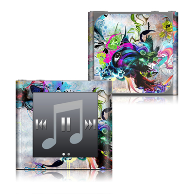 Apple iPod nano (6G) Skin - Streaming Eye