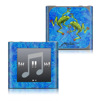 Apple iPod nano (6G) Skin - Tiger Frogs