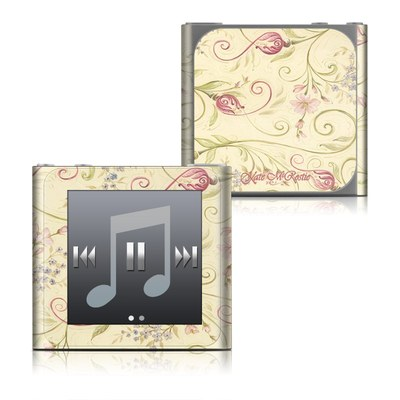Apple iPod nano (6G) Skin - Tulip Scroll