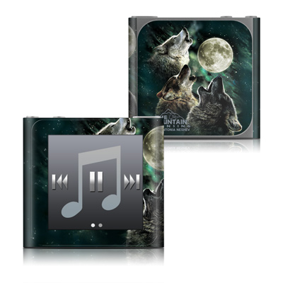 Apple iPod nano (6G) Skin - Three Wolf Moon