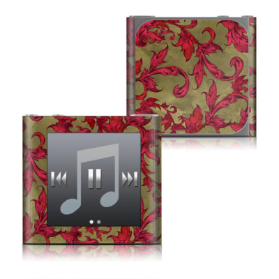 Apple iPod nano (6G) Skin - Vintage Scarlet