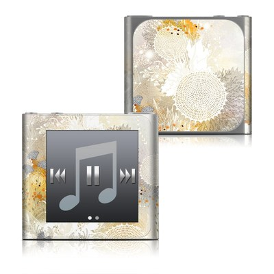 Apple iPod nano (6G) Skin - White Velvet