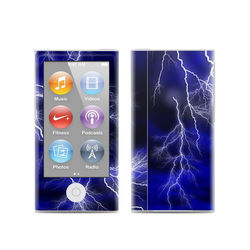 Apple iPod Nano (7G) Skin - Apocalypse Blue