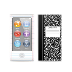 Apple iPod Nano (7G) Skin - Composition Notebook