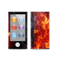 Apple iPod Nano (7G) Skin - Flower Of Fire