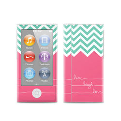 Apple iPod Nano (7G) Skin - Live Laugh Love