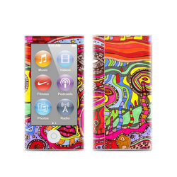 Apple iPod Nano (7G) Skin - The Wall