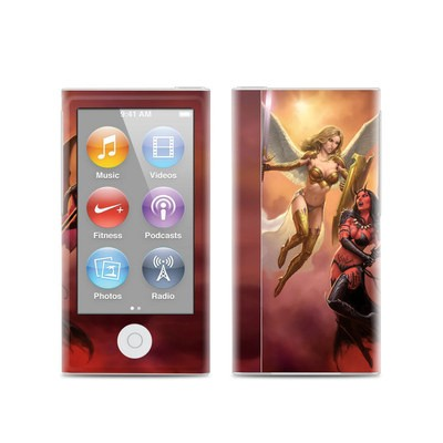 Apple iPod Nano (7G) Skin - Angel vs Demon
