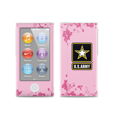 Apple iPod Nano (7G) Skin - Army Pink