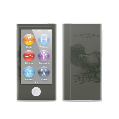 Apple iPod Nano (7G) Skin - Army Crest